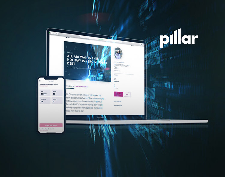Pillar Launches The First Gifting Platform For Consumers To Pay Off Student Loan Debt This Holiday Season