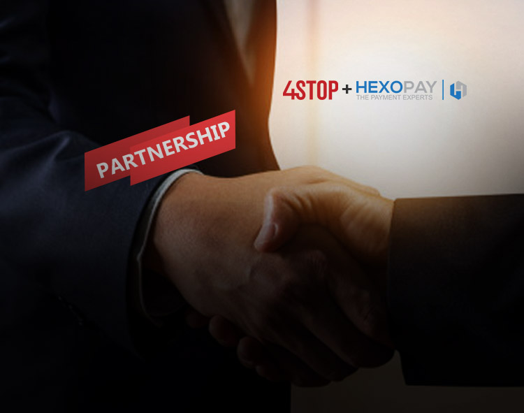 4stop Partners With Hexopay for an Innovative Link Between Identity and Payment Services