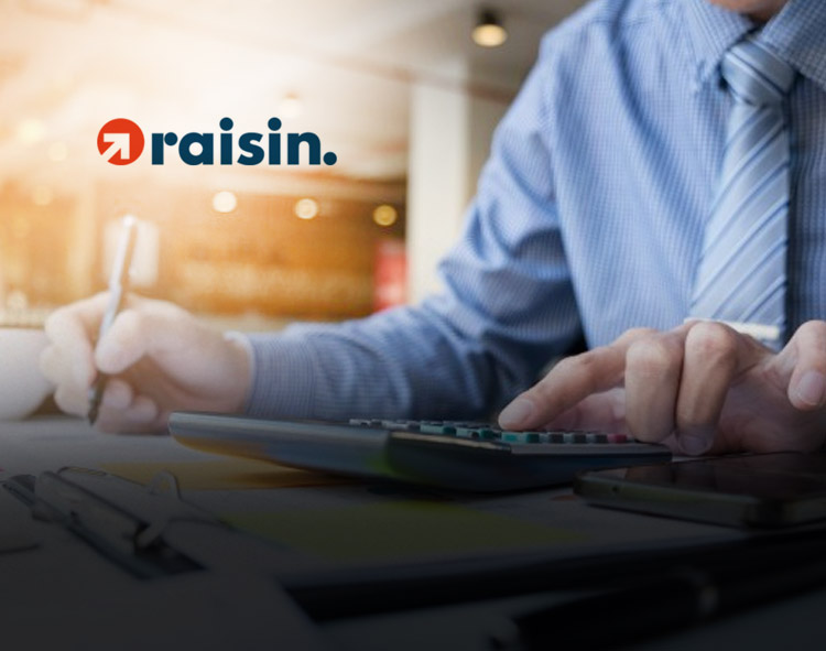 Raisin U.S. Receives Patent for Tech That Creates on-Demand User-Customized Time Deposits