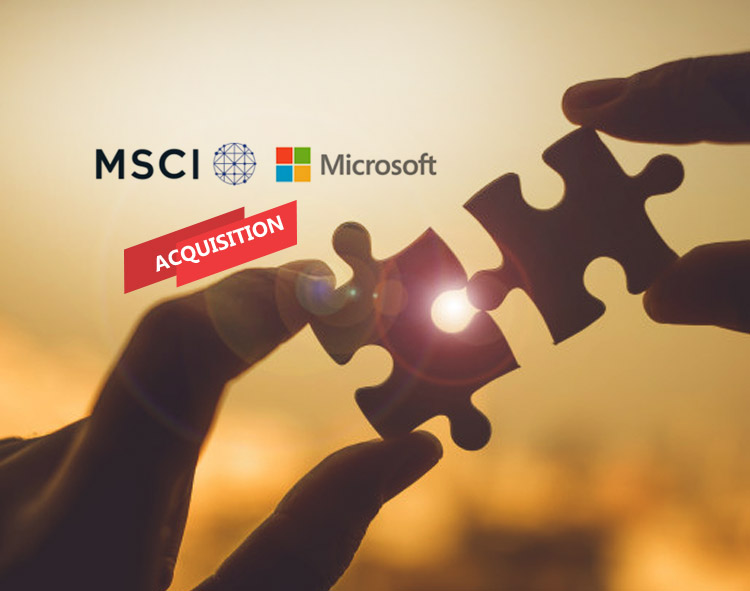 MSCI To Launch Investment Solutions As A Service In Collaboration With Microsoft