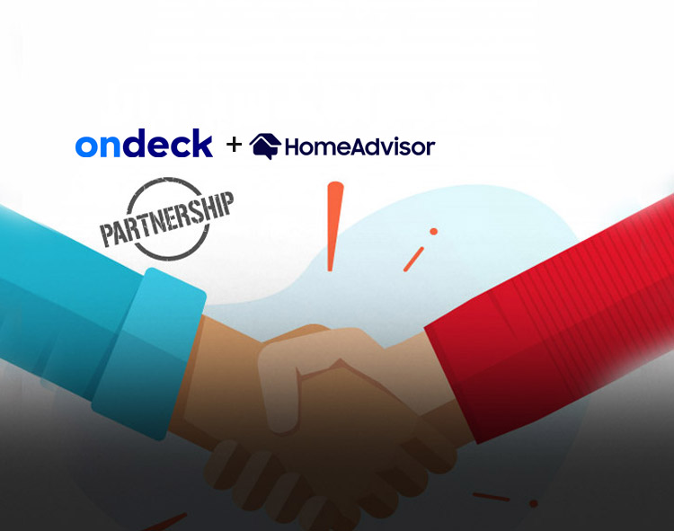 OnDeck Partners With HomeAdvisor