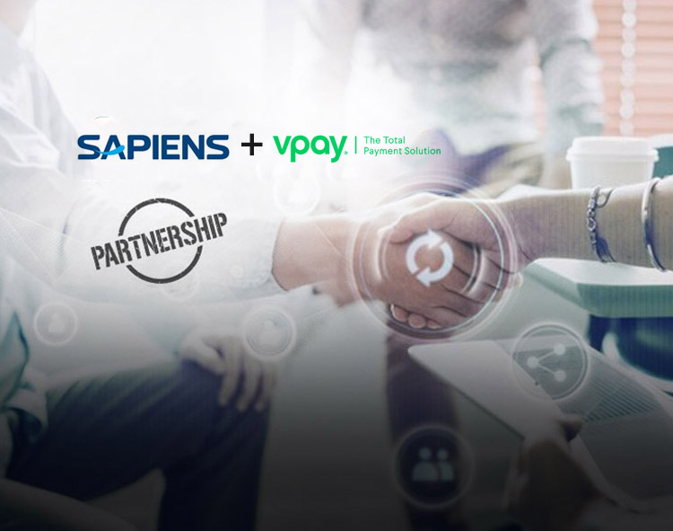 Sapiens Partners with VPay to Extend Digital Payment to Workers' Compensation Insurers