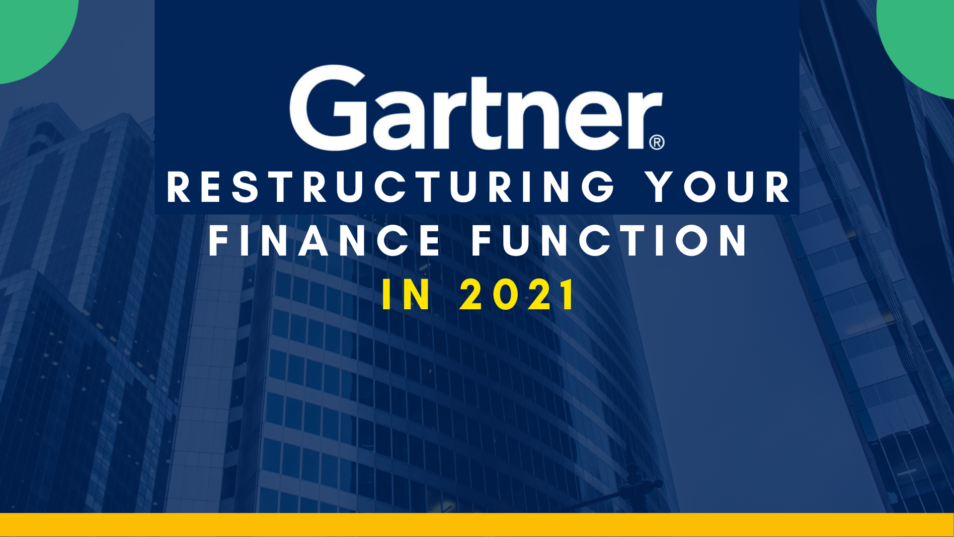 Fintech Report: It's Time to Redesign Your Finance Function Completely