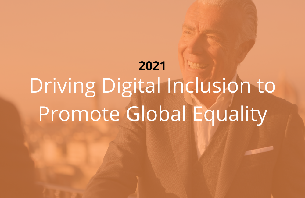 Driving Digital Inclusion to Promote Global Equality