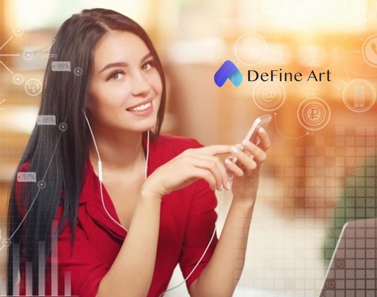 Asia NFT Platform DeFine Art Releases its Version 2.0