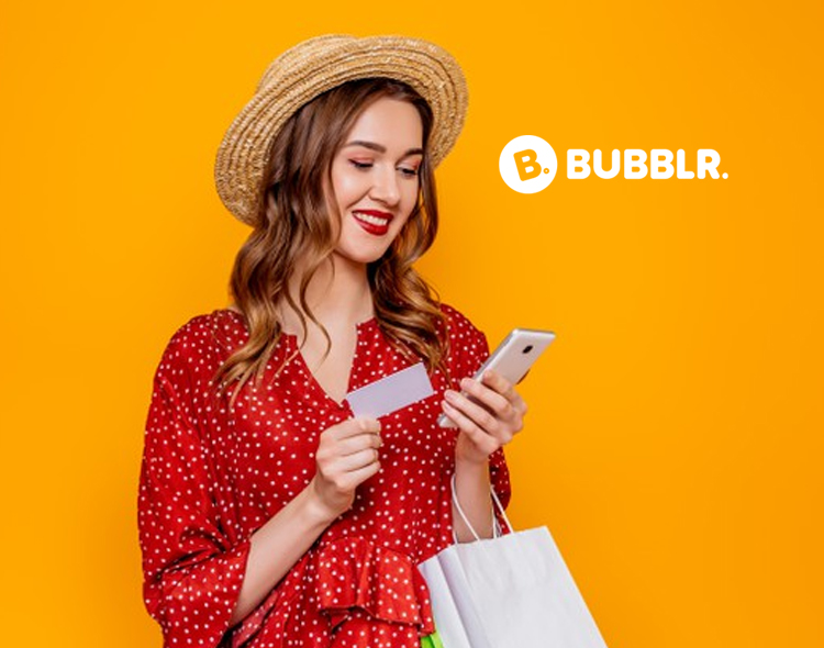 Bubblr Signs Letter of Intent with Key Fintech Company