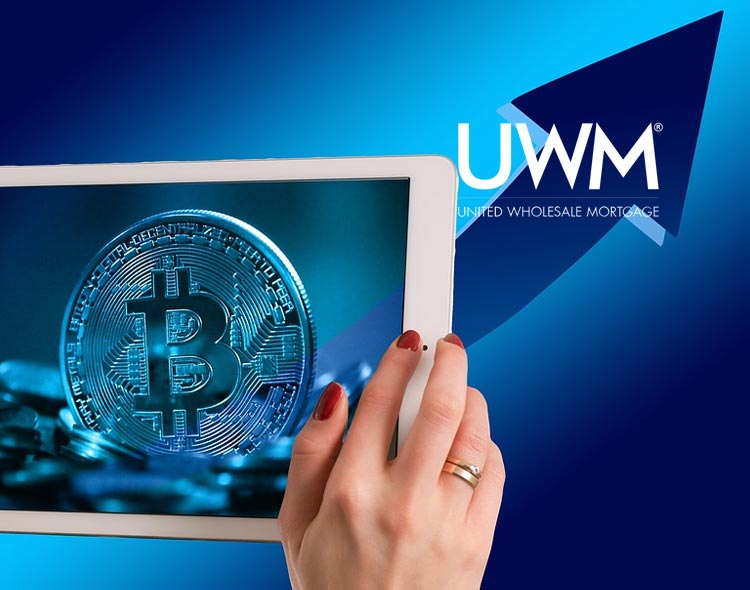 United Wholesale Mortgage Completes First-Ever Cryptocurrency Mortgage Payment Transactions